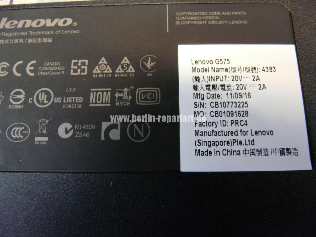 Lenovo G575 mit WD Scorpio Blue WD750, System Startet nicht (22)