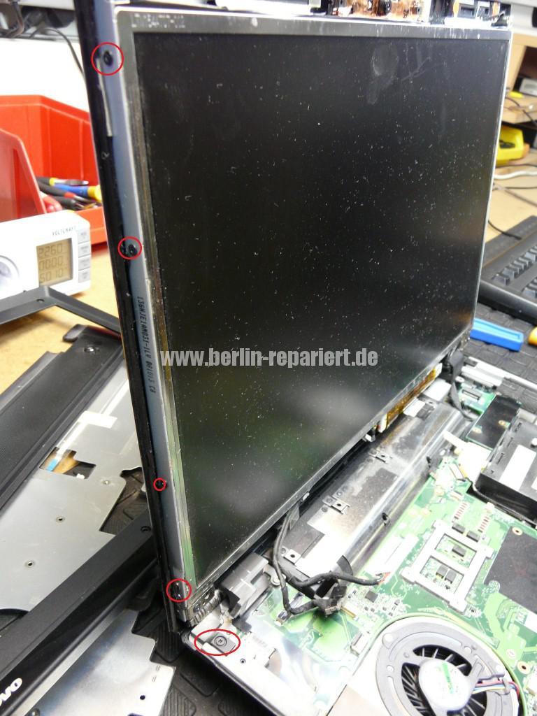 Lenovo SL500, Scharniere Defekt, Scharniere Tauschen (11)