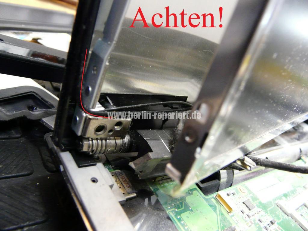 Lenovo SL500, Scharniere Defekt, Scharniere Tauschen (12)