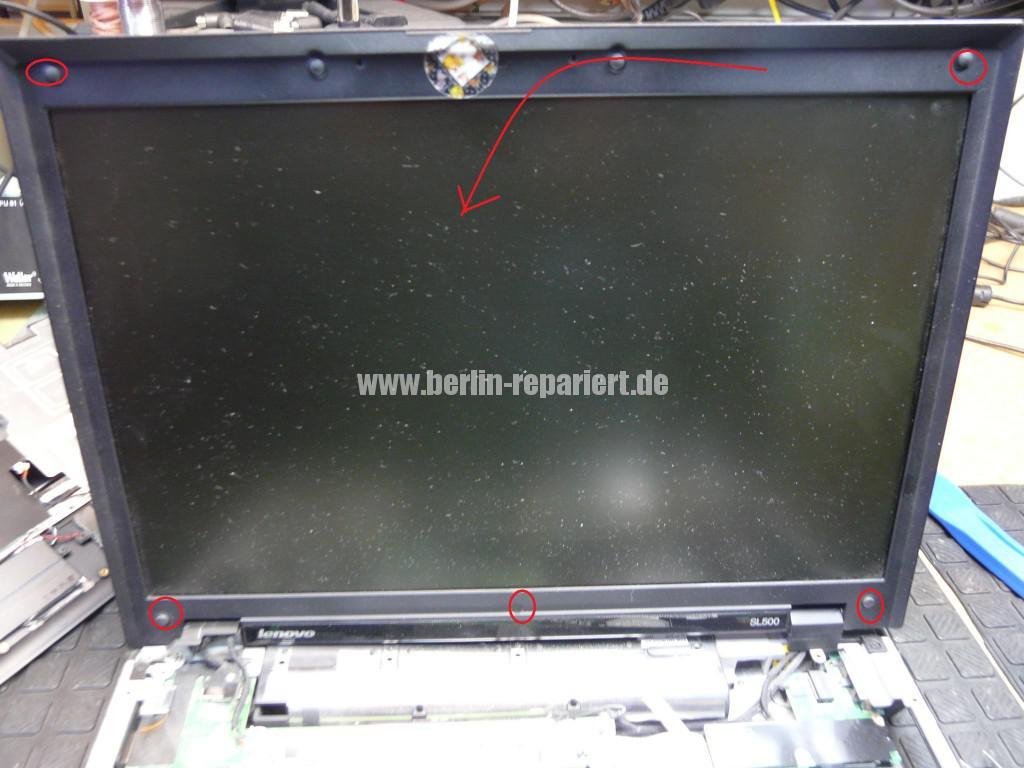 Lenovo SL500, Scharniere Defekt, Scharniere Tauschen (8)