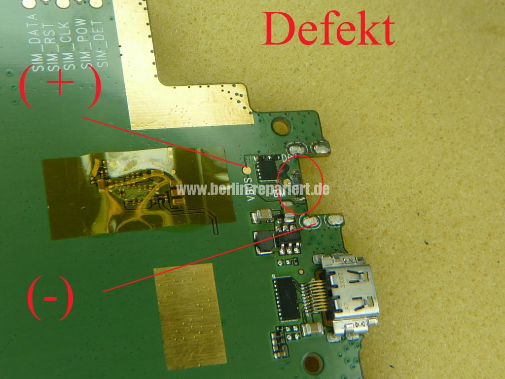 Lenovo Smart Tab III, USB Buchse Defekt (4)