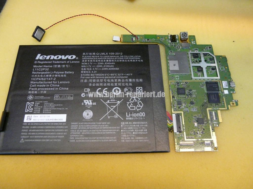 Lenovo Smart Tab III, USB Buchse Defekt (5)
