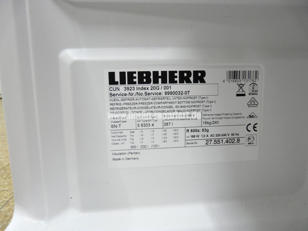 Liebherr CUN 9323, Kühlfach Kühlt nicht (7)