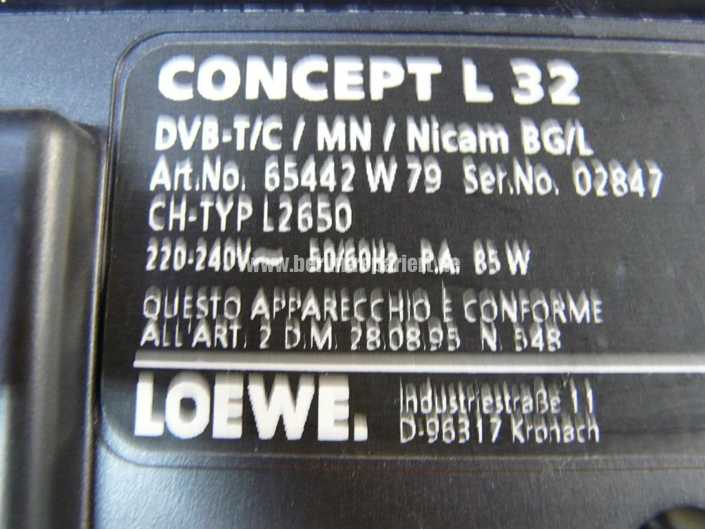 Loewe Concept L32, Ton Verzerrt (9)