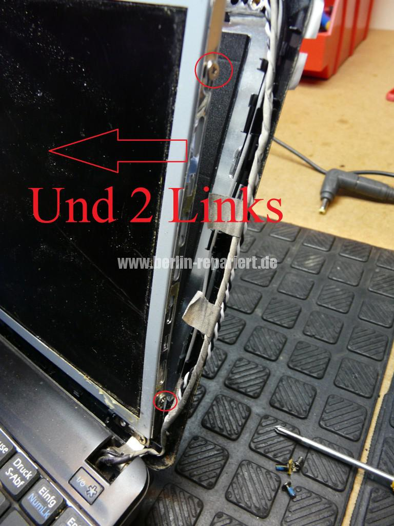 MSI U100, Display Schaden (6)