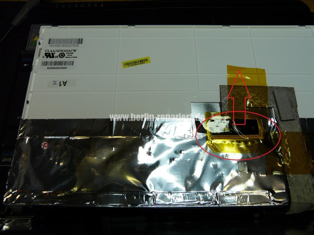 MSI U100, Display Schaden (7)