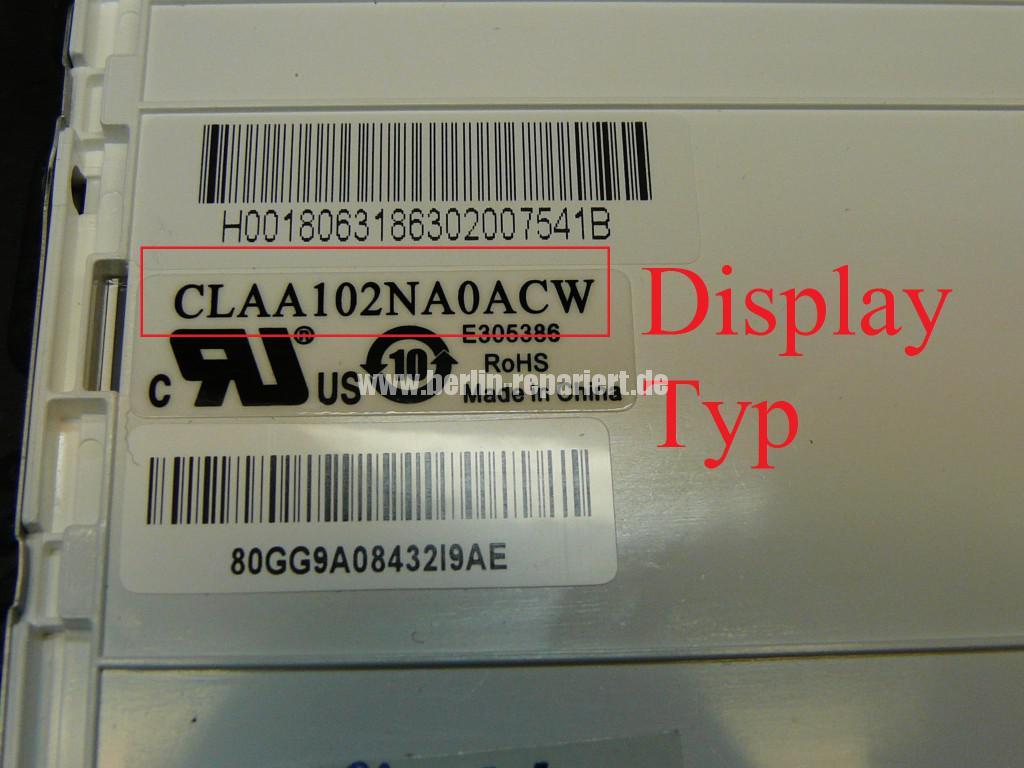 MSI U100, Display Schaden (8)