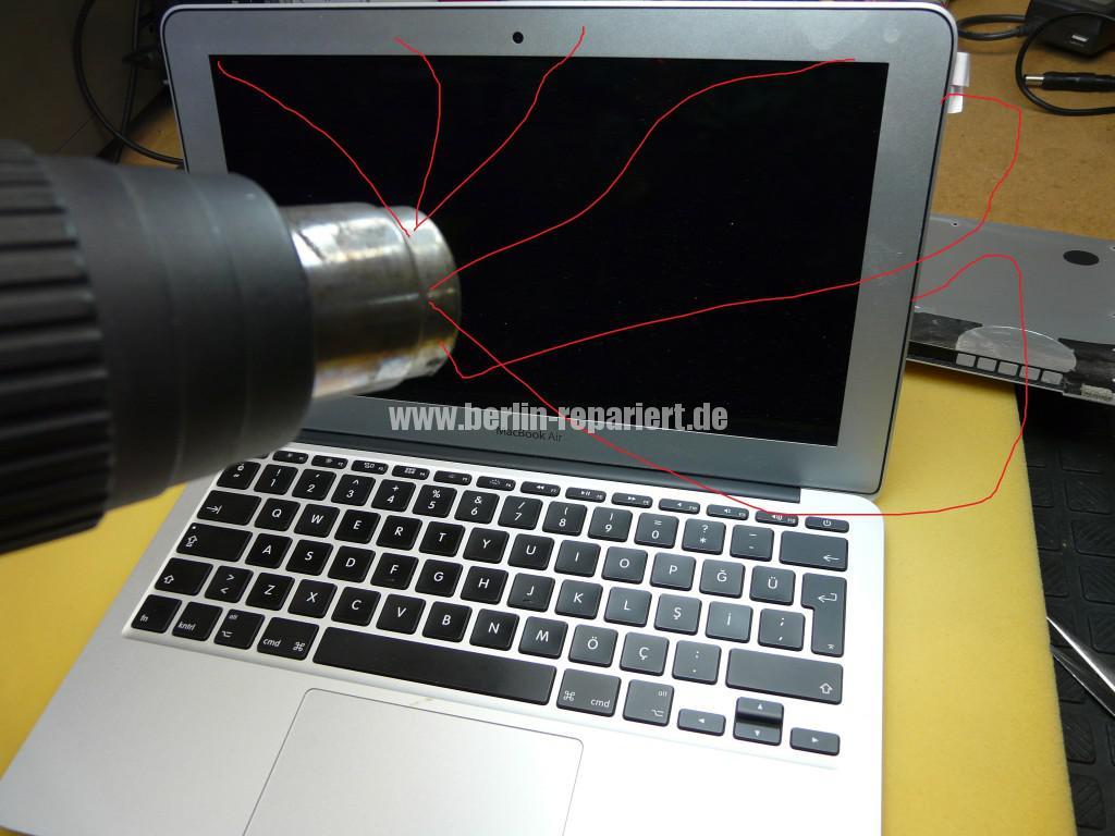 MacBook Air A1465, Display Defekt (22)