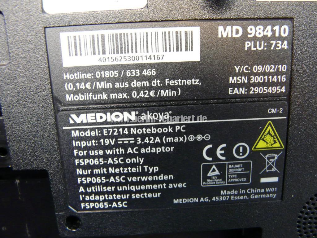 Medion MD , keine Funktion (11)