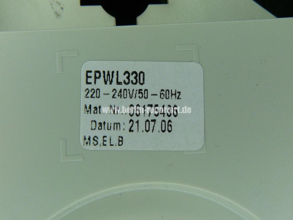 Miele EPWL 330, Mat. Nr. 06175436, Programschalter defekt (2)