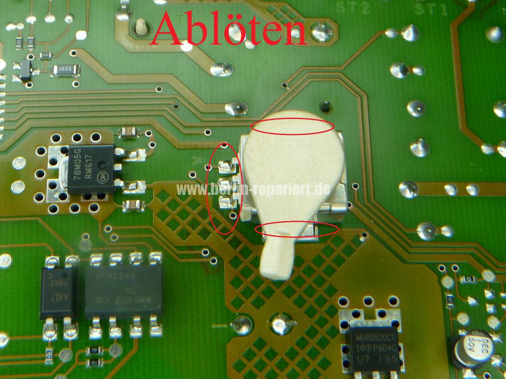 Miele EPWL 330, Mat. Nr. 06175436, Programschalter defekt (6)