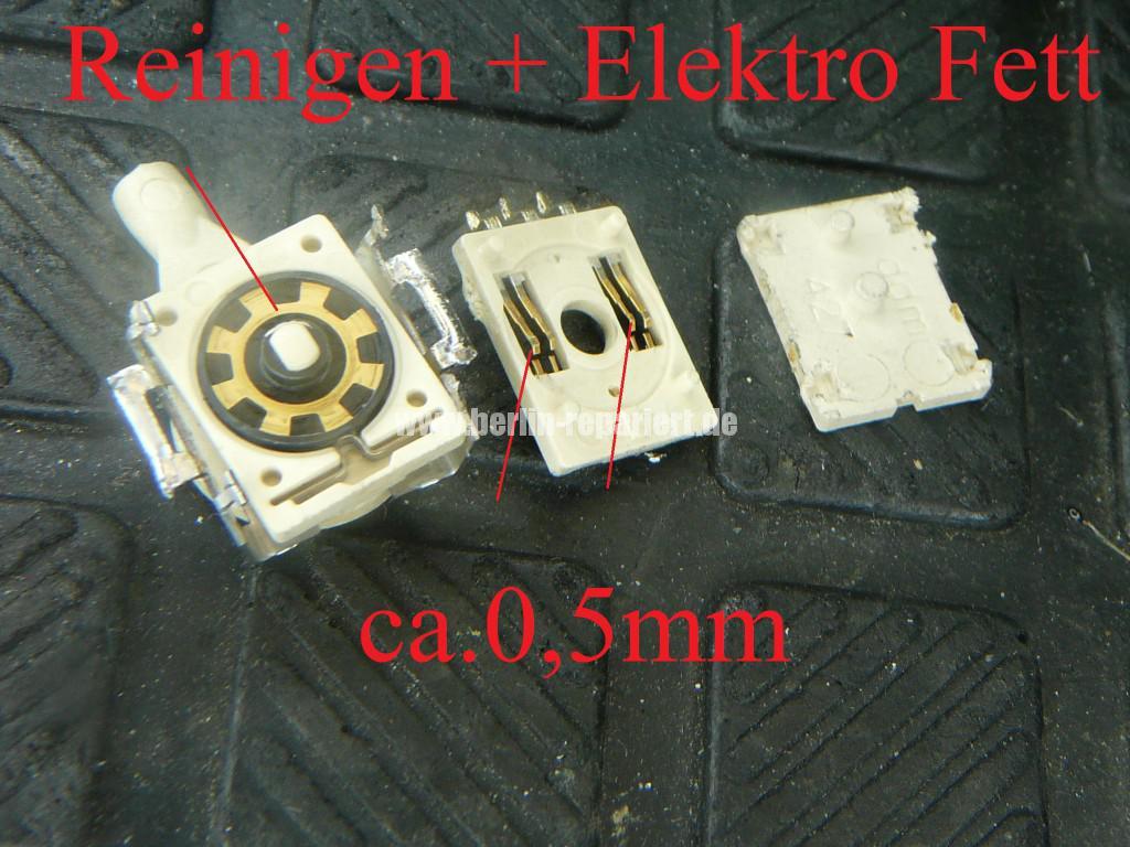 Miele EPWL 330, Mat. Nr. 06175436, Programschalter defekt (9)