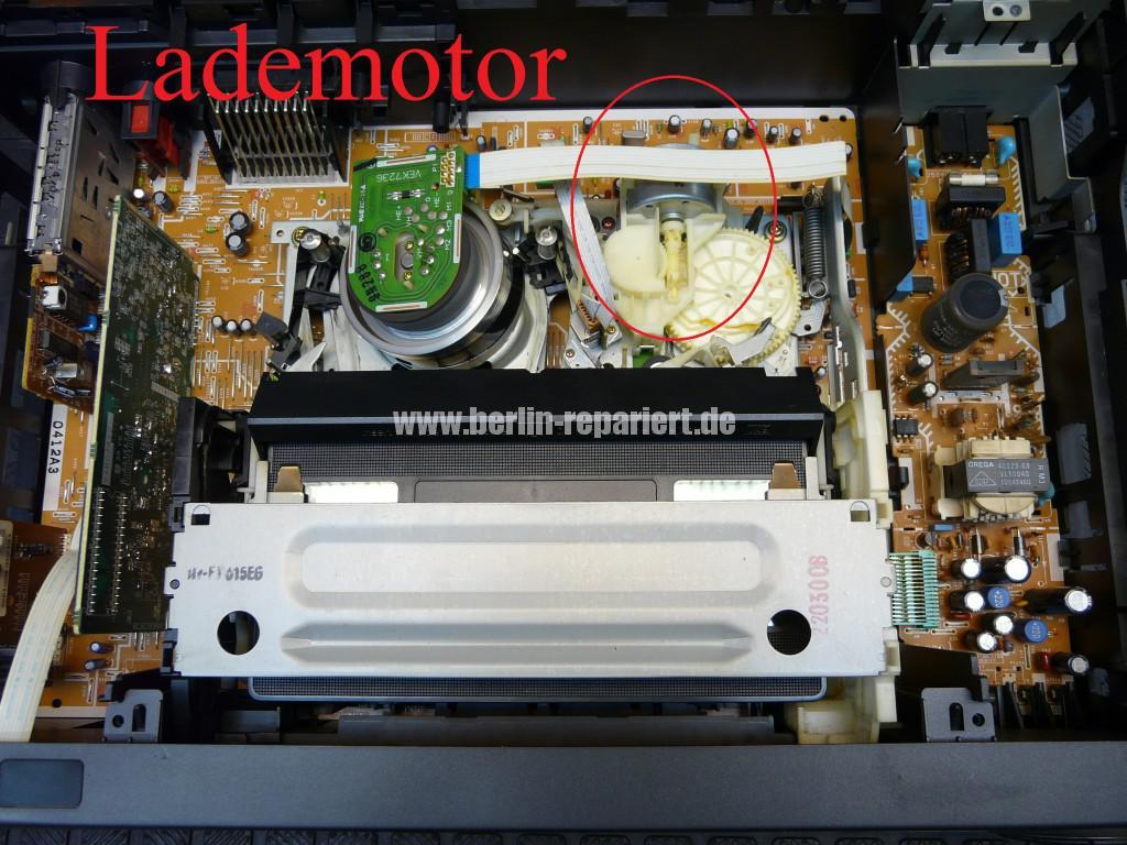 Panasonic NV-FJ, Kassette klemmt (2)