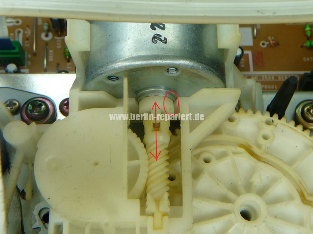 Panasonic NV-FJ, Kassette klemmt (3)