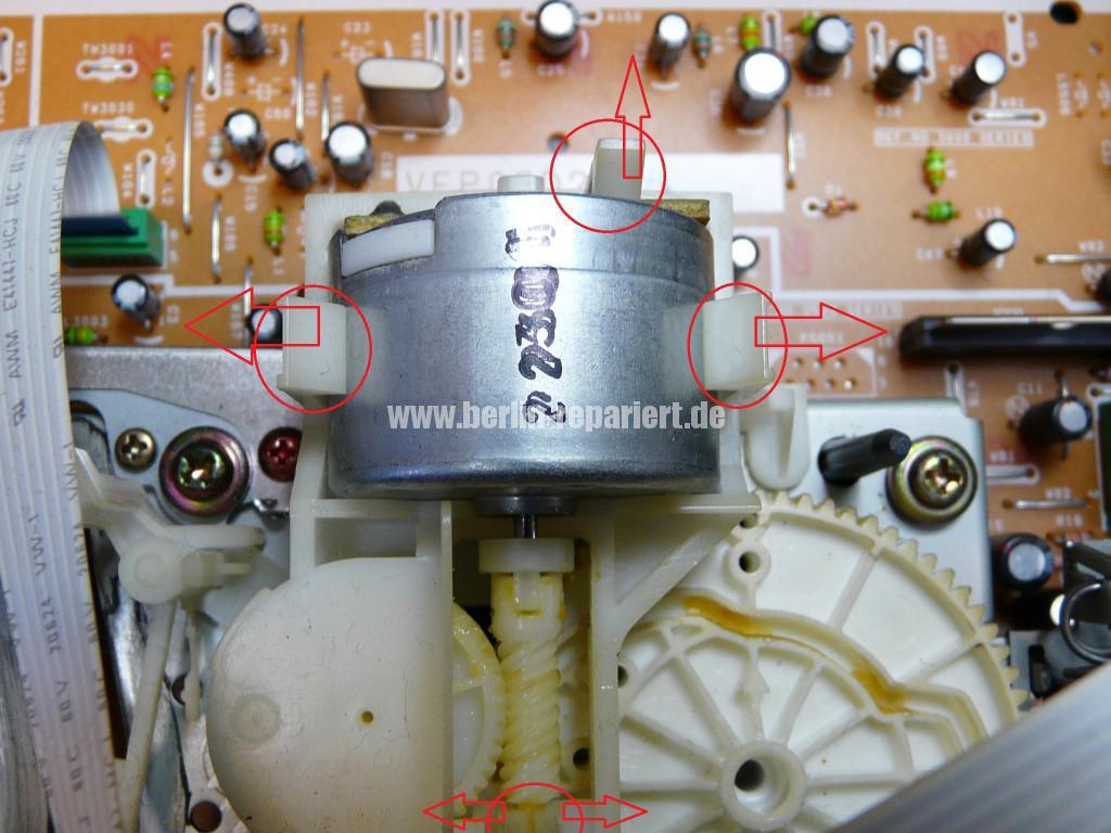 Panasonic NV-FJ, Kassette klemmt (5)
