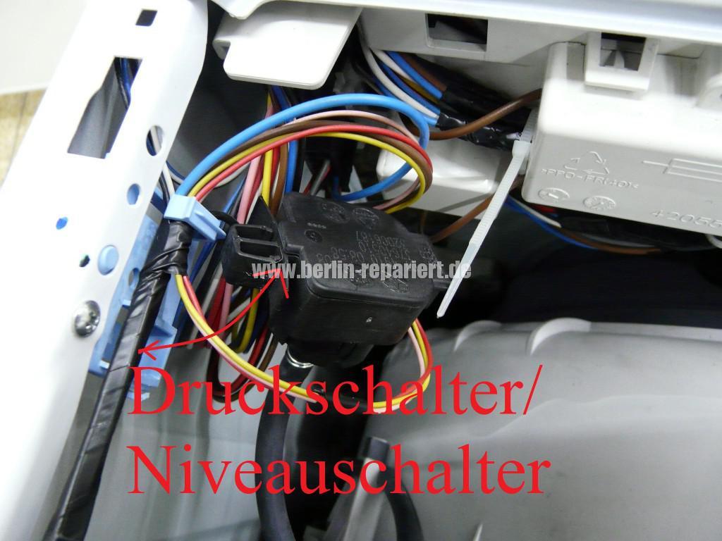 Panassonic NA-147, bleibt stehen, Error (8)