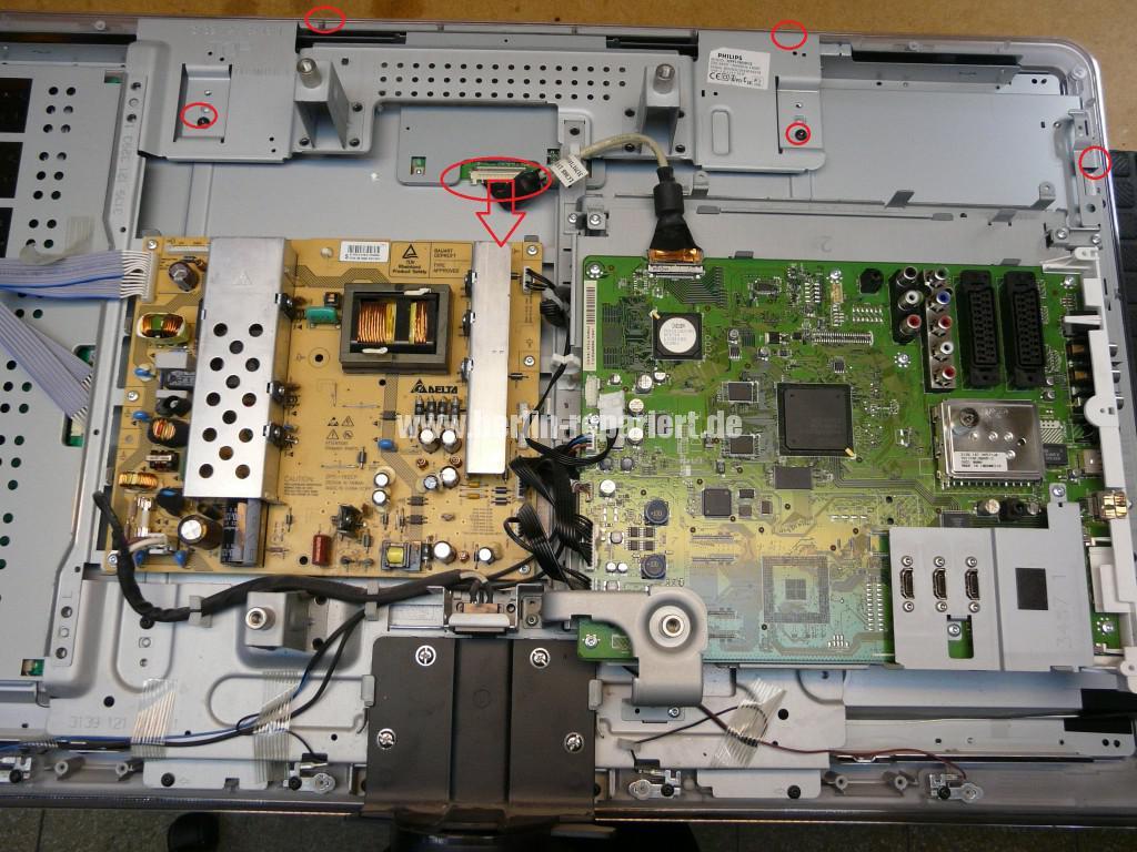 Philips 32PFL7603, Bild Solarisiert, Gamma Fehler (5)