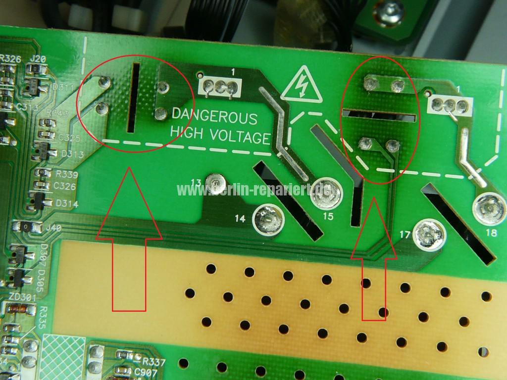 Philips 37PFL560D10, keine Funktion, Blinkt (6)