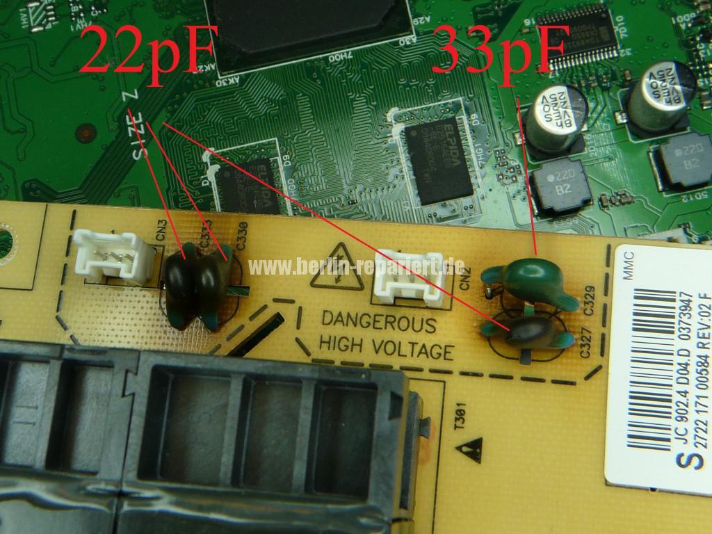 Philips 37PFL560D10, keine Funktion, Blinkt (7)