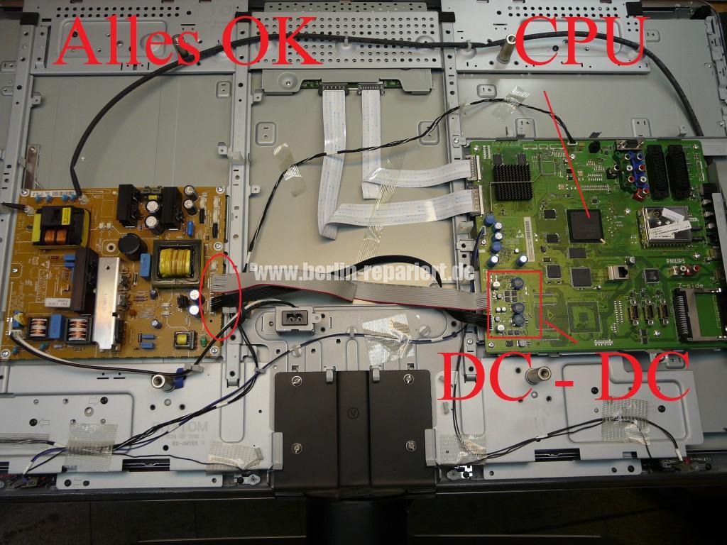 Philips 42PFL7423D12, keine Funktion Blinkt 3x (2)