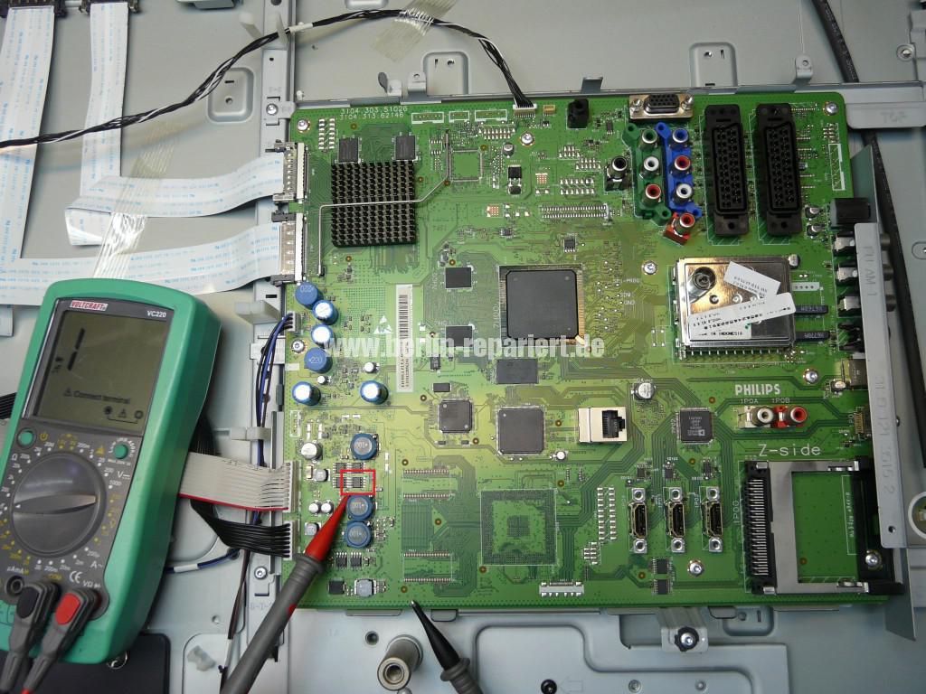 Philips 42PFL7423D12, keine Funktion Blinkt 3x (3)