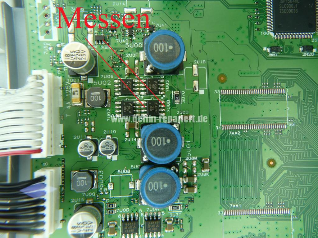 Philips 42PFL7423D12, keine Funktion Blinkt 3x (4)
