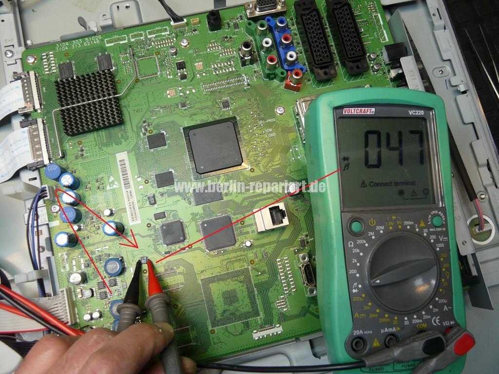 Philips 42PFL7423D12, keine Funktion Blinkt 3x (6)
