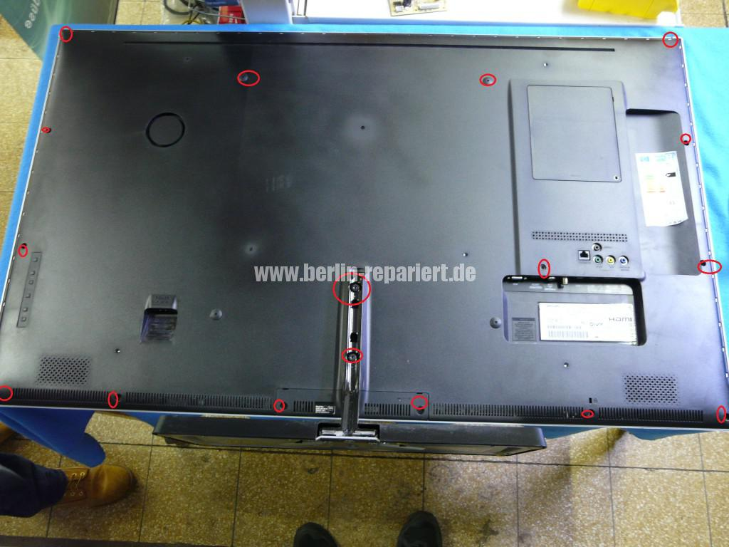 Philips 47PFL6877, keine Funktion, Netzteil Defekt, Netzteil Reparieren (1)