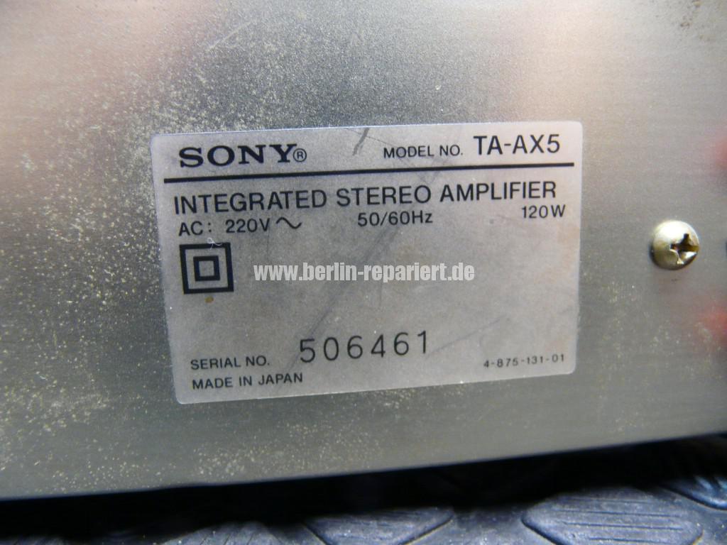 SONY TA-AX5, keine Funktion (13)