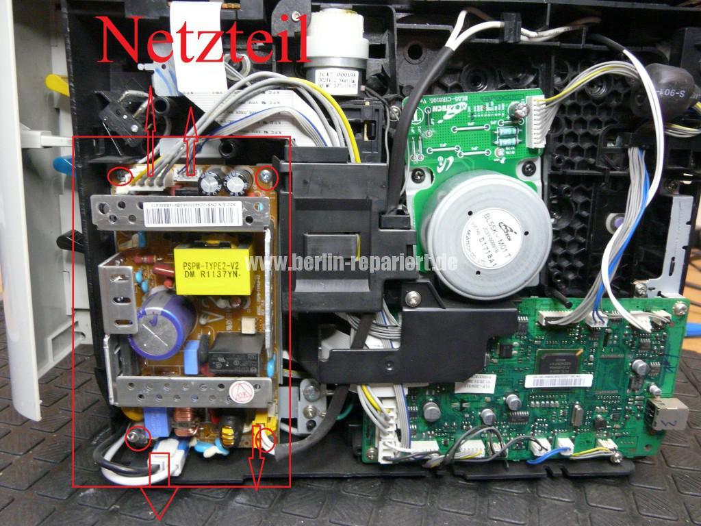 Samsung CLP320, keine Funktion, Netzteil tauschen (12)