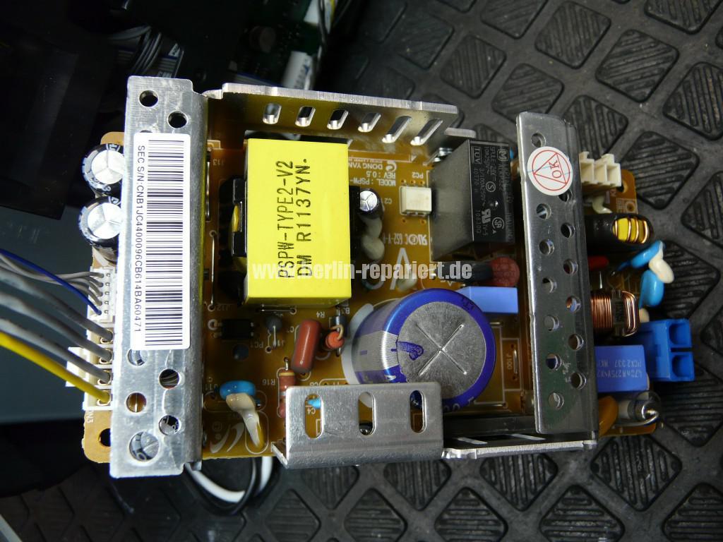 Samsung CLP320, keine Funktion, Netzteil tauschen (13)