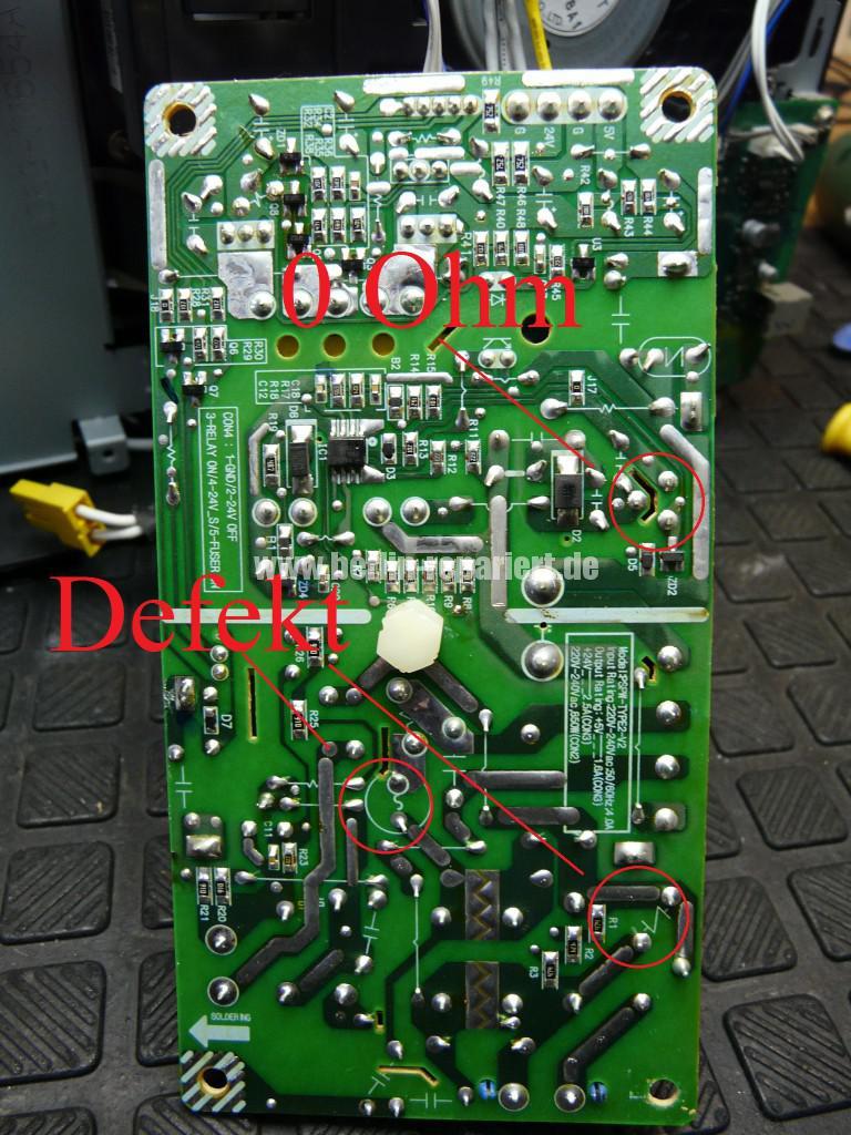 Samsung CLP320, keine Funktion, Netzteil tauschen (14)