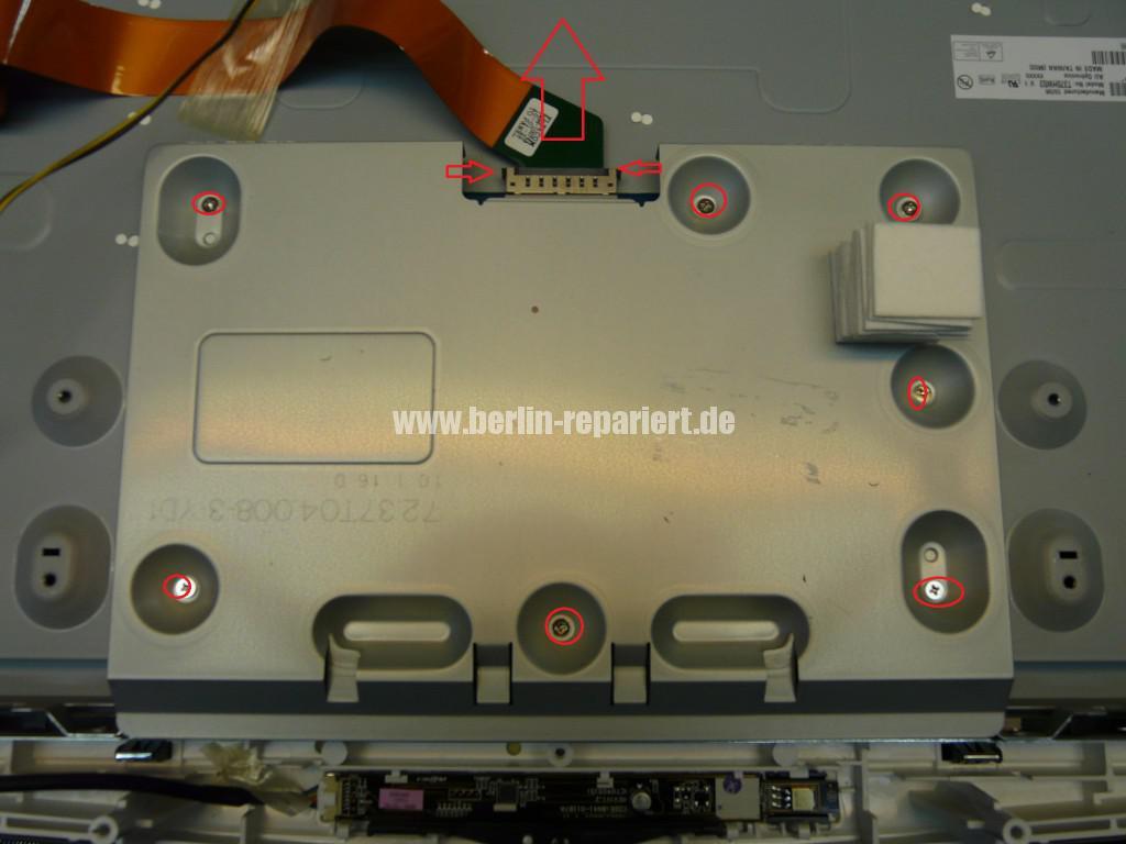 Samsung LE37B650, Bild ist negativ, wenig Kontrast (6)