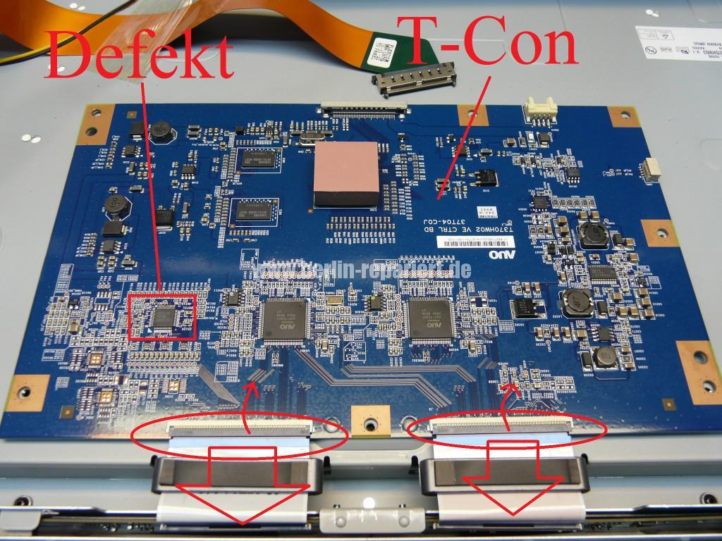 Samsung LE37B650, Bild ist negativ, wenig Kontrast (7)