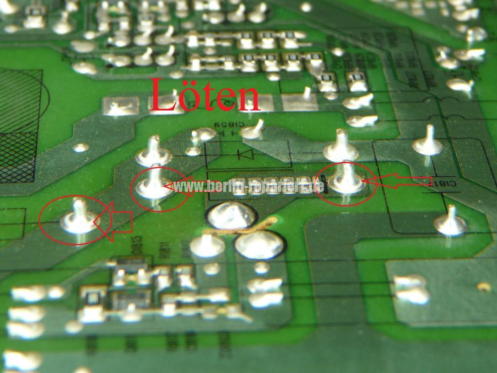 Samsung LE40B530, geht aus, lässt sich nicht bedienen (10)