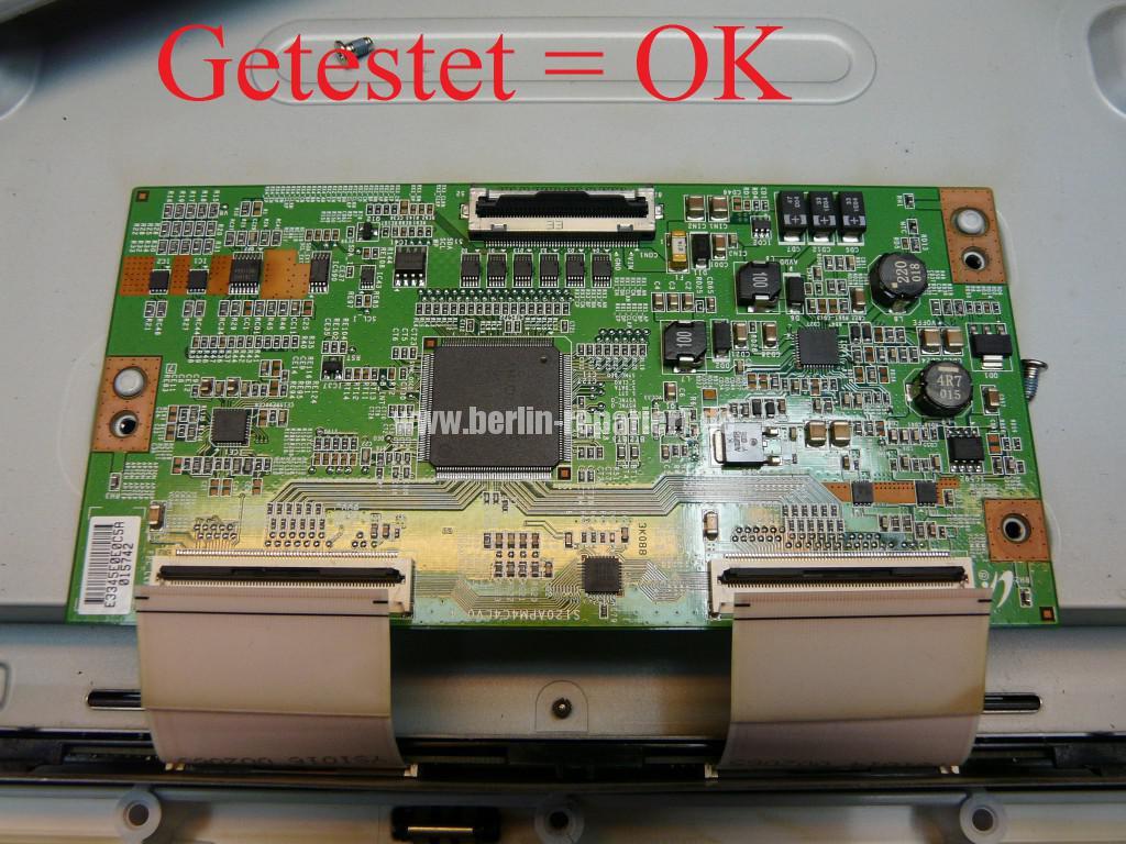 Samsung LE40C630K1, Streifen in Bild (11)
