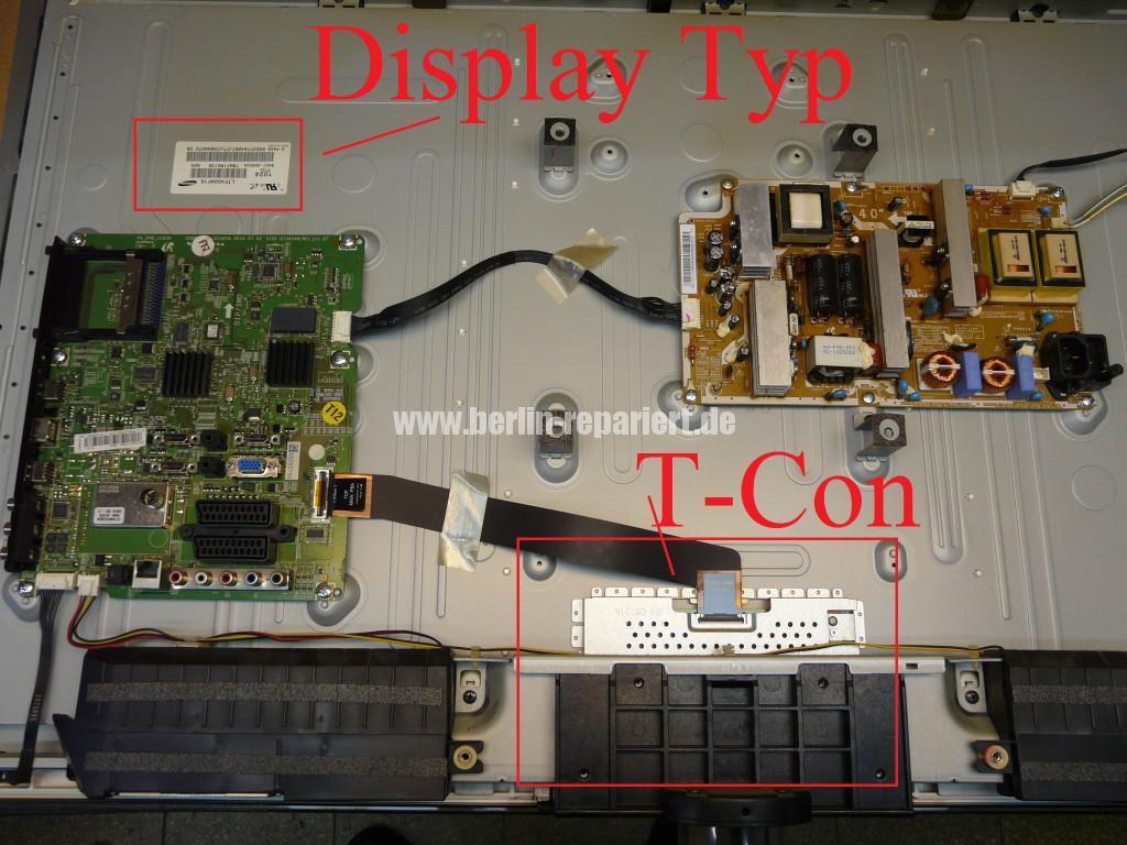 Samsung LE40C630K1, Streifen in Bild (8)