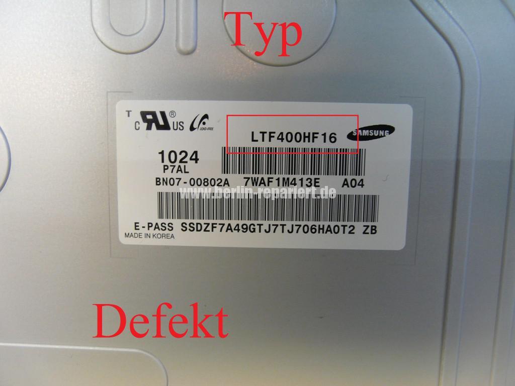 Samsung LE40C630K1, Streifen in Bild (9)