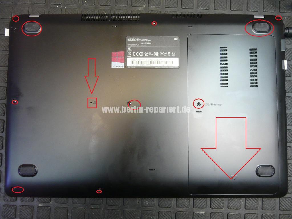 Samsung NP510RSE, Akku wird nicht geladen (3)
