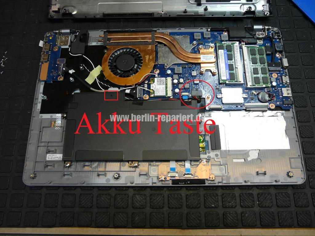 Samsung NP510RSE, Akku wird nicht geladen (7)