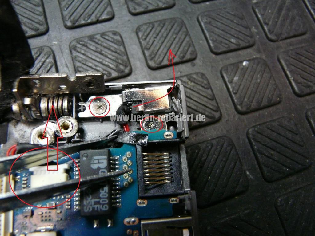 Samsung NP535U, Netzbuchse Defekt, Netzbuchse tauschen (10)