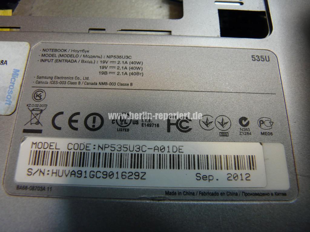 Samsung NP535U, Netzbuchse Defekt, Netzbuchse tauschen (12)