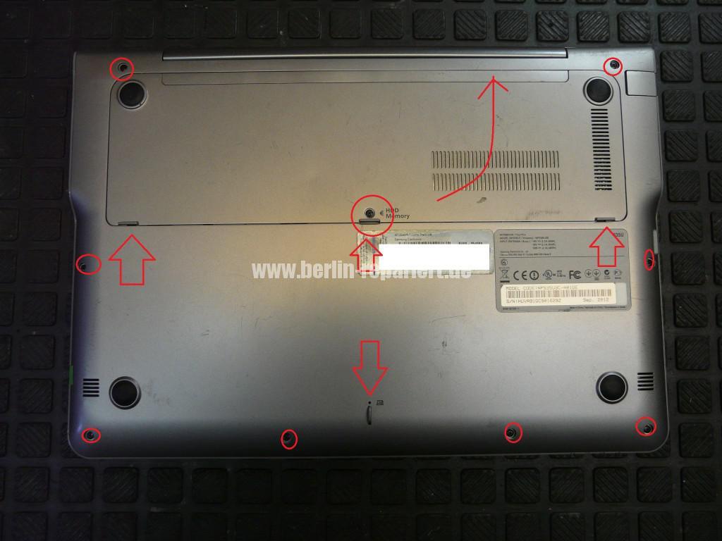 Samsung NP535U, Netzbuchse Defekt, Netzbuchse tauschen (2)