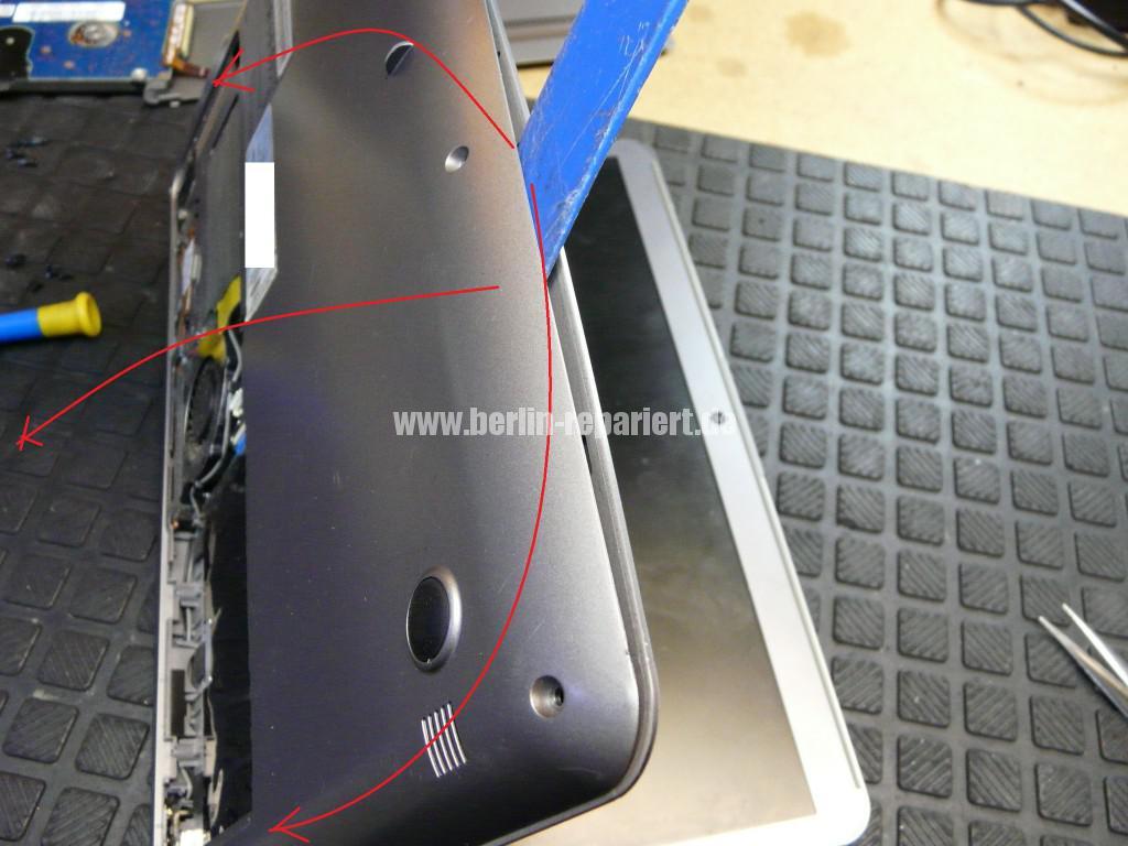 Samsung NP535U, Netzbuchse Defekt, Netzbuchse tauschen (4)