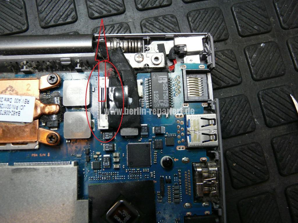 Samsung NP535U, Netzbuchse Defekt, Netzbuchse tauschen (7)