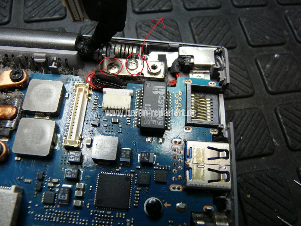 Samsung NP535U, Netzbuchse Defekt, Netzbuchse tauschen (8)
