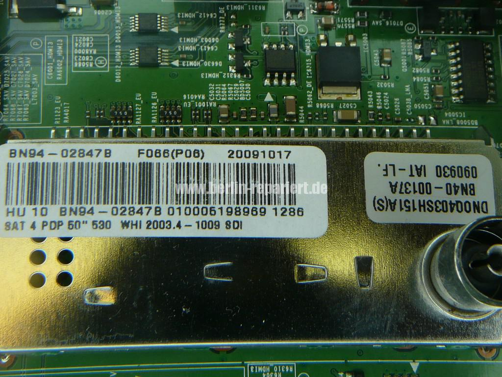 Samsung PS50B530S2, Klickt, keine Funktion (14)