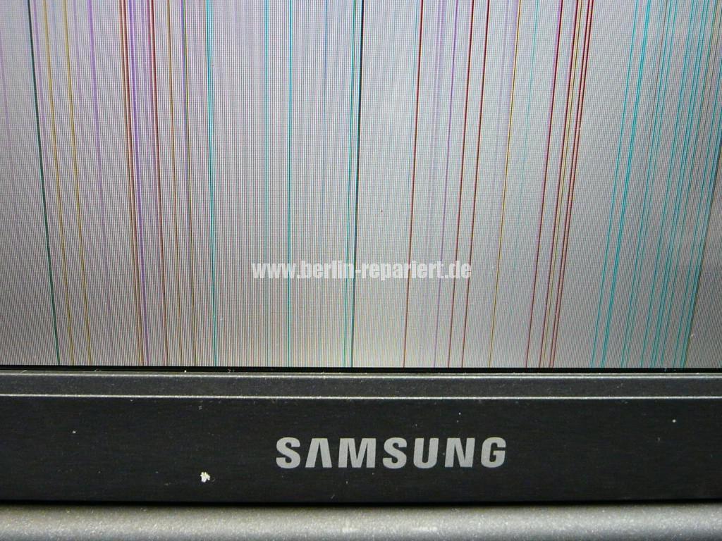 Samsung R70, Streifen in Bild (3)