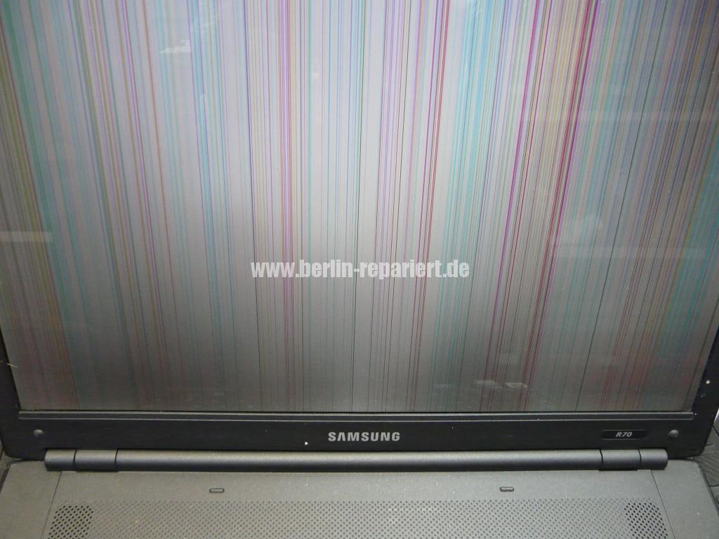 Samsung R70, Streifen in Bild (4)