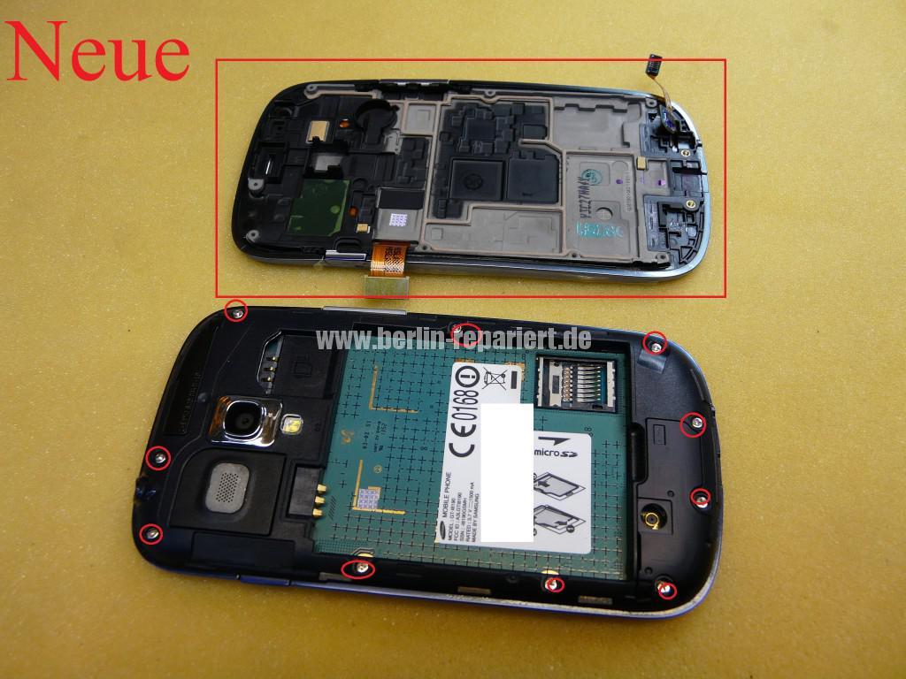 Samsung S3 mini, i8190, Display Tauschen (2)